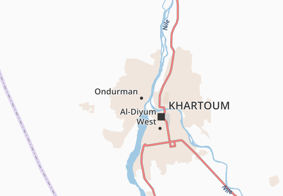 Carte-Plan Ondurman