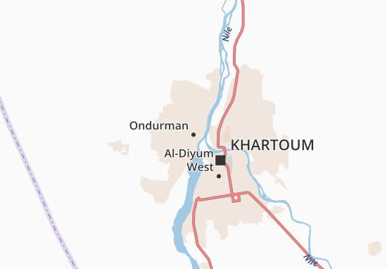 Mapa Plano Ondurman