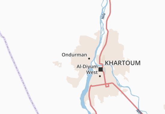 Carte-Plan Omdurman Outlying
