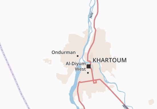 Carte-Plan Al-Rikabiyya