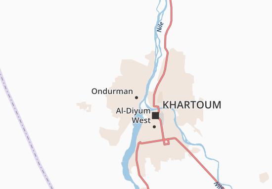 Carte-Plan Omdurman