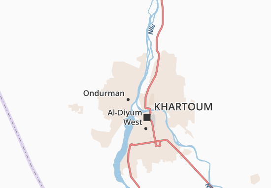 Carte-Plan Abu-Rof