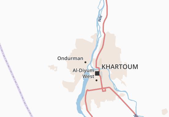 Carte-Plan Hay Al-Umda