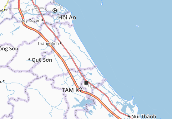 Carte-Plan Bình Nam