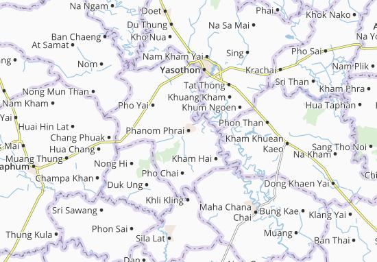 Carte-Plan Phanom Phrai