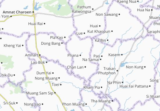 Kaart Plattegrond Phana