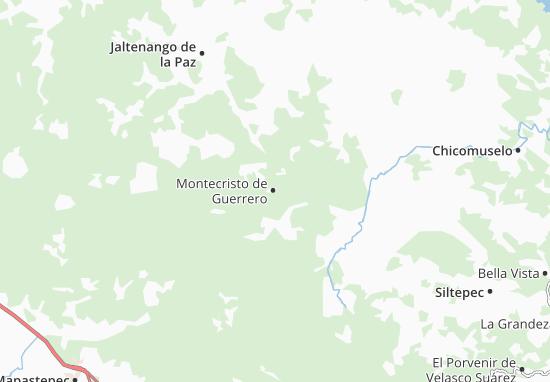 Carte-Plan Montecristo de Guerrero