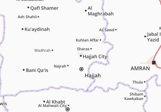 Mapas-Planos Hajjah City
