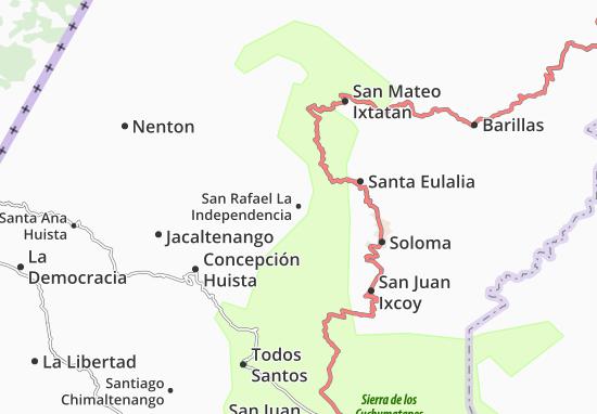 Mappe-Piantine San Rafael La Independencia