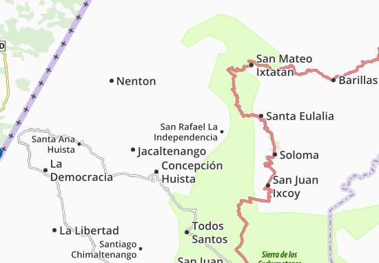 Carte-Plan San Miguel Acatan