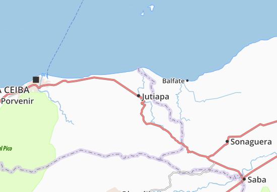 Mapa Plano Jutiapa