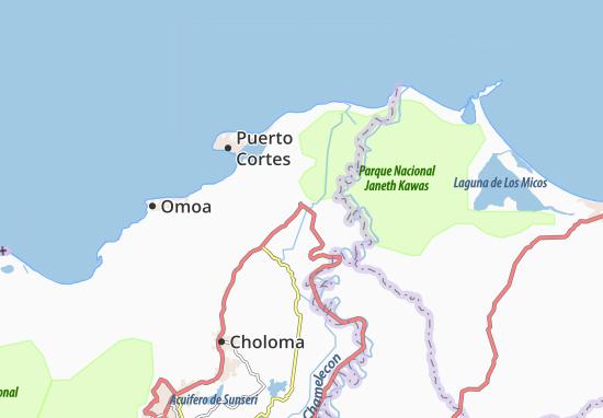 Mapa Plano Baracoa