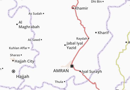 Mapas-Planos Jabal Iyal Yazid