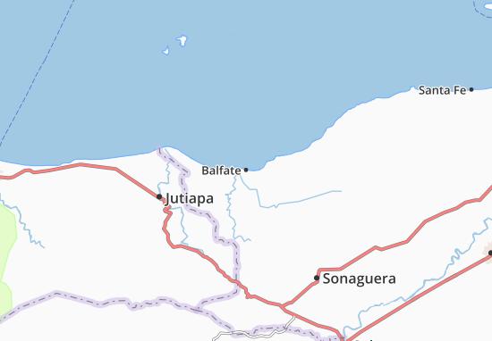 Mapa Plano Balfate