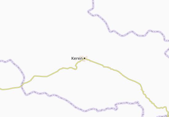 Mapa Plano Keren