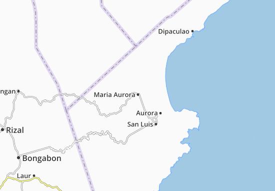 Carte-Plan Maria Aurora
