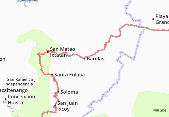 Barillas Map