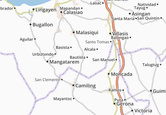 Mappe-Piantine Bayambang
