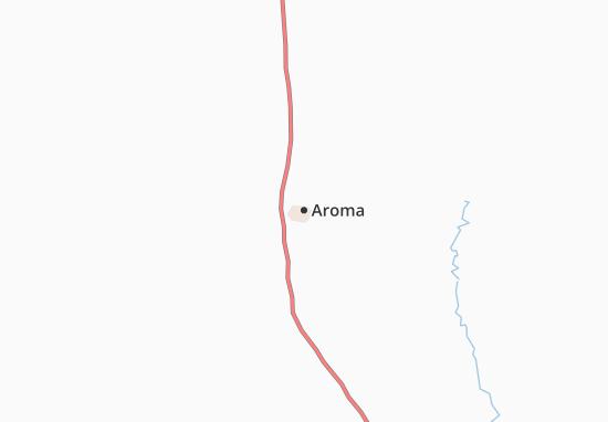 Carte-Plan Aroma