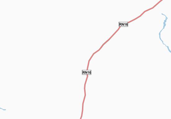 Kaart Plattegrond Borenta