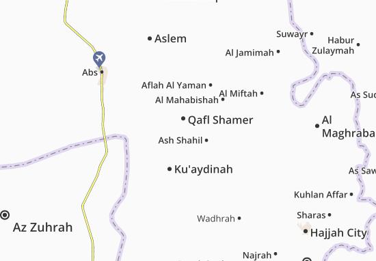 Mapas-Planos Qafl Shamer