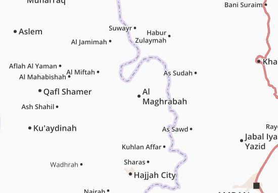 Mapas-Planos Al Maghrabah