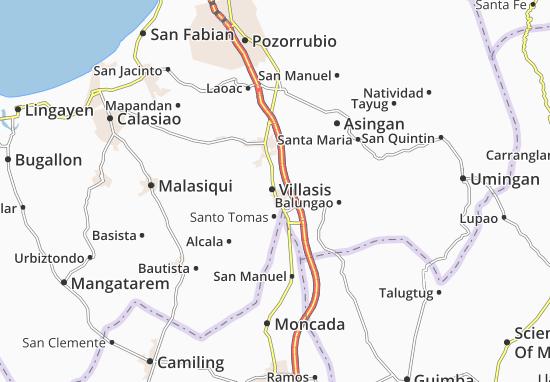 Mappe-Piantine Villasis