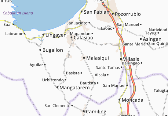 Mappe-Piantine Malasiqui