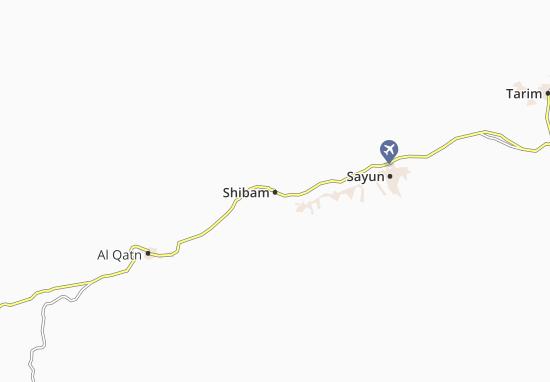 Mapas-Planos Shibam