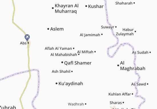 Mapas-Planos Al Mahabishah