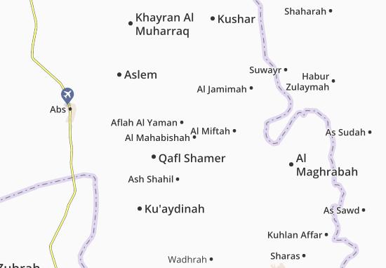 Mappe-Piantine Aflah Al Yaman