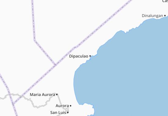 Dipaculao Map