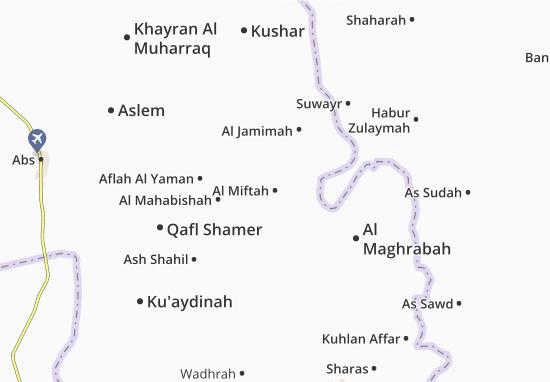 Carte-Plan Al Miftah