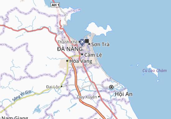 Carte-Plan Hòa Xuân