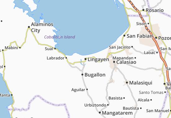 Mappe-Piantine Lingayen