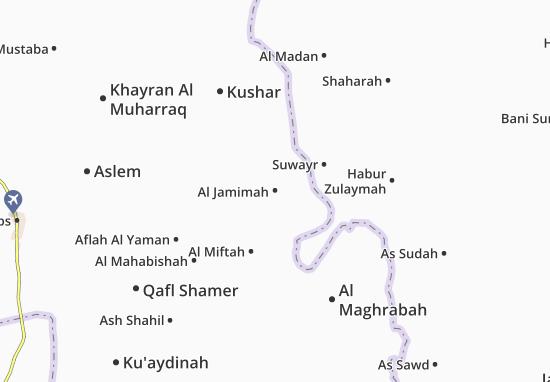 Carte-Plan Al Jamimah