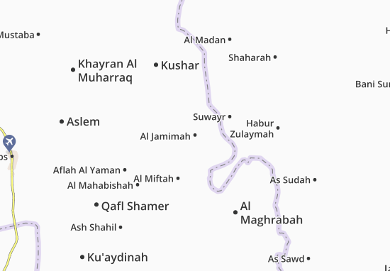 Mapas-Planos Al Jamimah