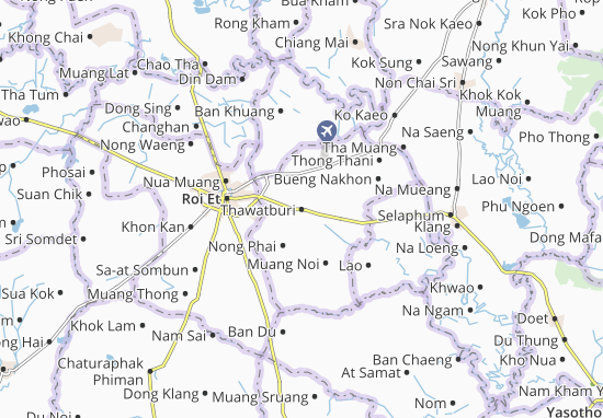 Mappe-Piantine Thawatburi