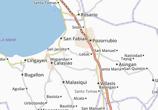 Mappe-Piantine Manaoag