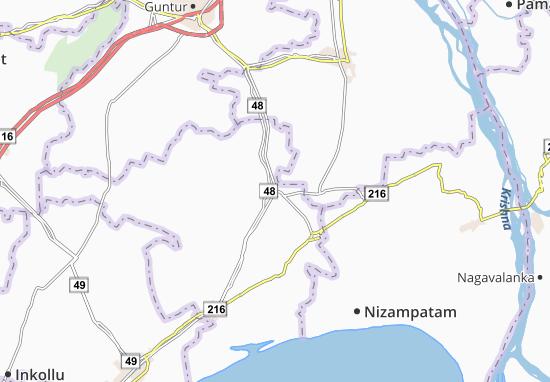 Nidubrolu Map