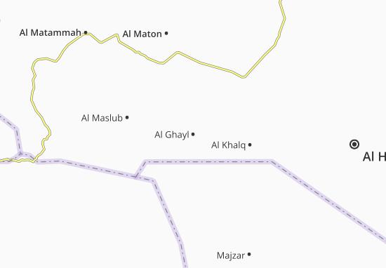 Carte-Plan Al Ghayl