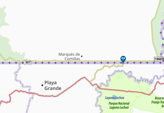 Marqués de Comíllas Map