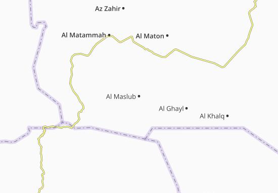 Carte-Plan Al Maslub