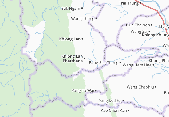 Khlong Lan Phatthana Map