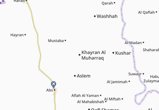 Mapas-Planos Khayran Al Muharraq