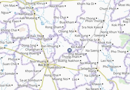 Chiang Khwan Map