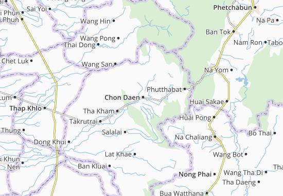 Mappe-Piantine Chon Daen