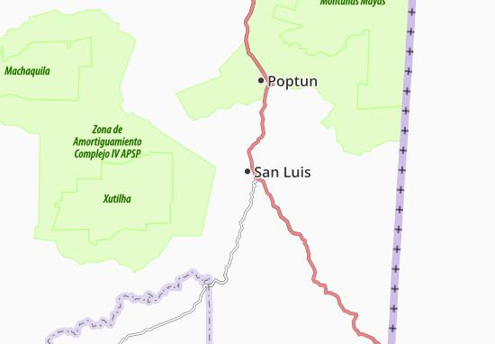 Carte-Plan San Luis