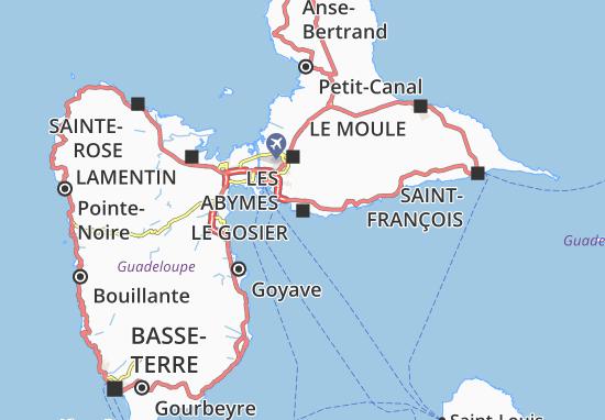 Le Gosier Map