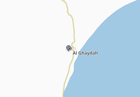 Kaart Plattegrond Al Ghaydah